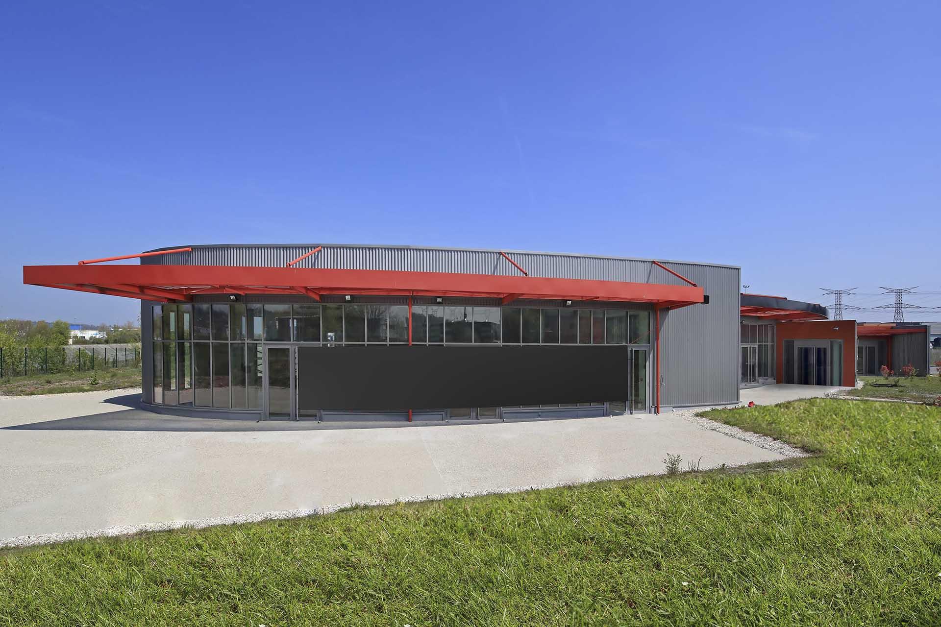 Vue du parc d'activité STONEHEDGE® SAINT QUENTIN FALLAVIER