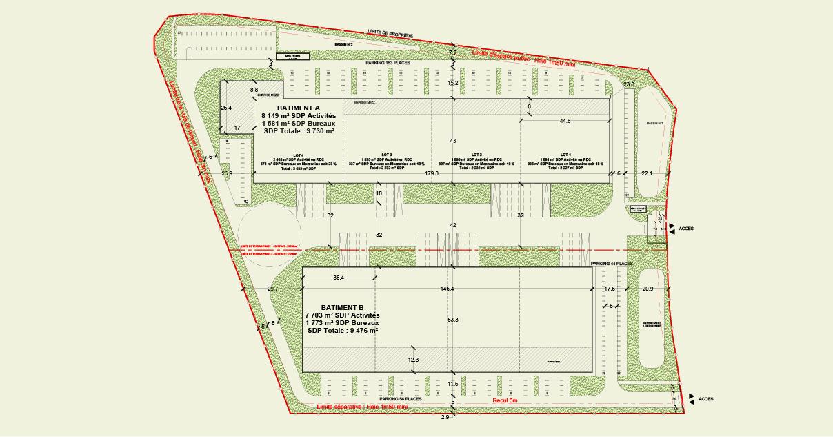 Plan Masse Louvres